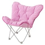 pink butterfly chair